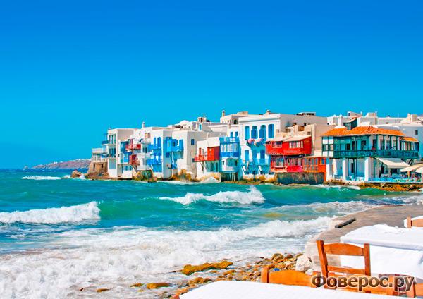 Миконос, Греция. Маленькая Венеция