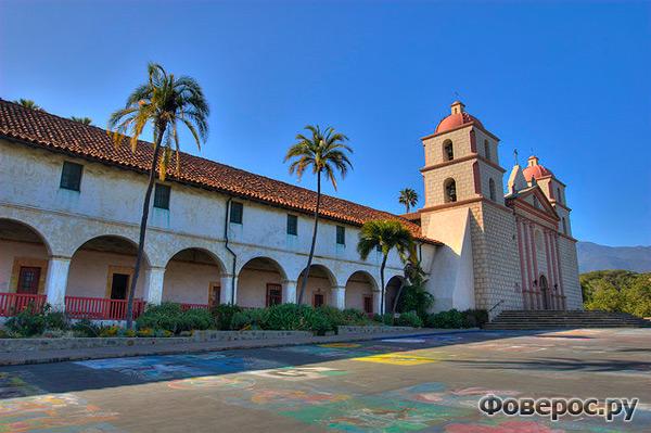 Миссия Санта Барбара, США