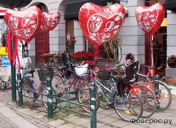 Швеция. Любовные велосипеды