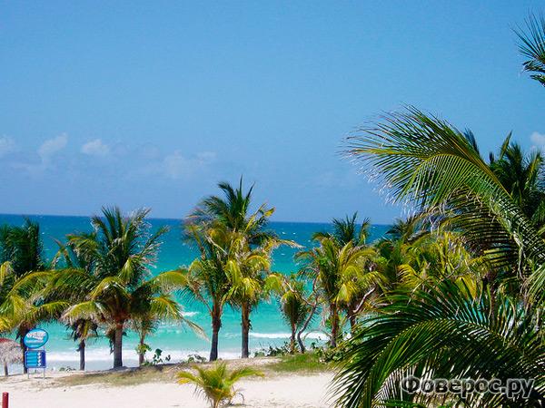 Варадеро, Куба. Пляж