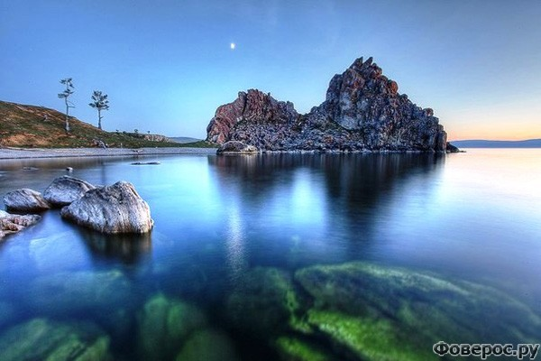 Байкал: Скалы