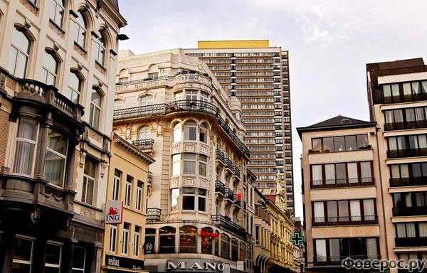 Остенде: Центр города