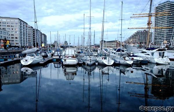 Остенде: Морской порт