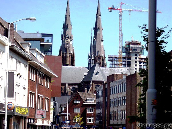 Эйндховен - Улицы города