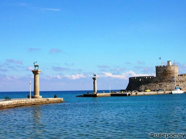 Родос: Порт Мандраки