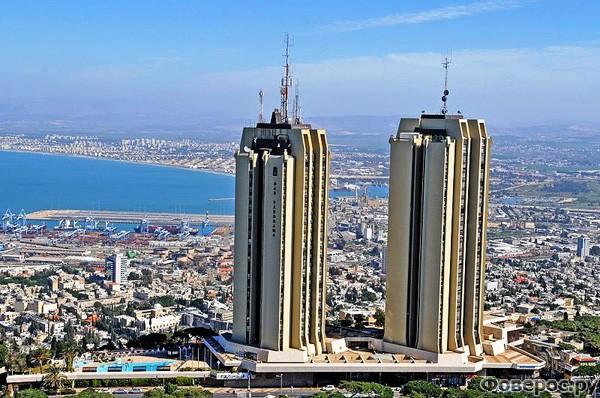 Хайфа - Башни «Панорама», символ Кармеля