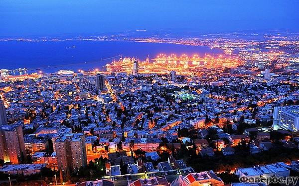 Хайфа - Ночной город