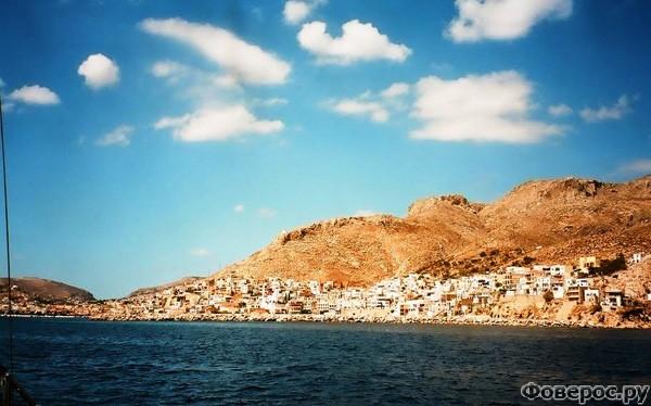 Калимнос - Вид на остров