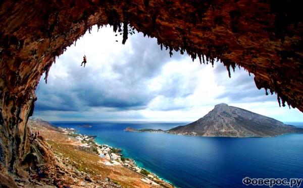 Калимнос - Вид с острова