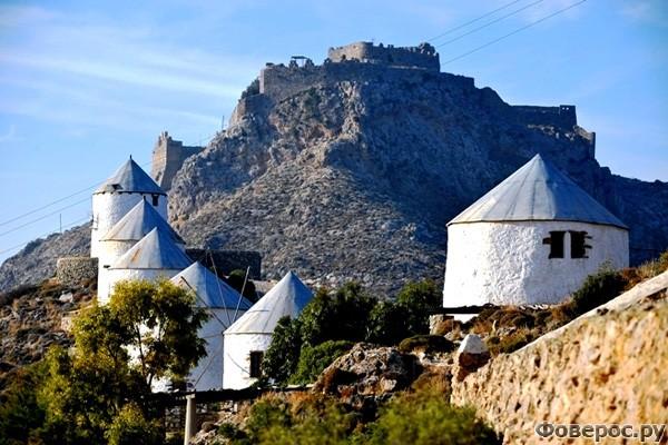 Калимнос - Домики в горах