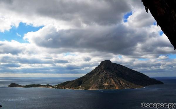 Калимнос - Вид с острова на море