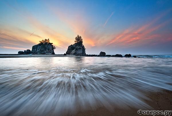 Кемасик: Вид на берег с моря