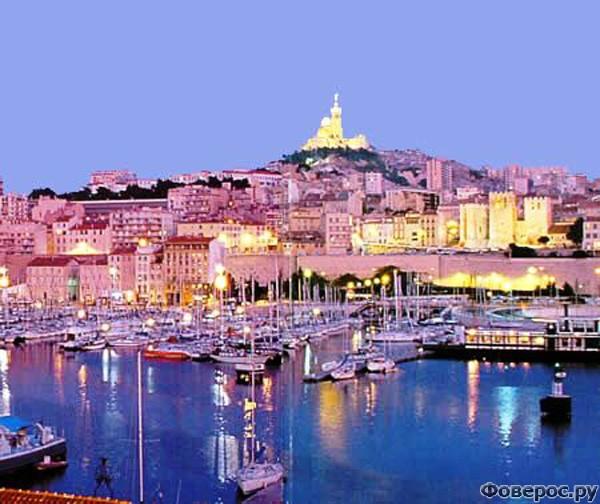 Марсель - Вечерний город