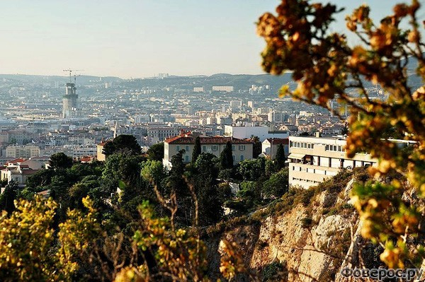 Марсель - Вид на город
