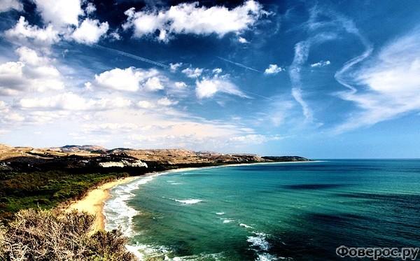 Монталлегро - Море