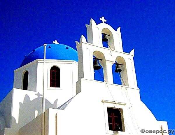 Санторини: Церковь Айю Мина