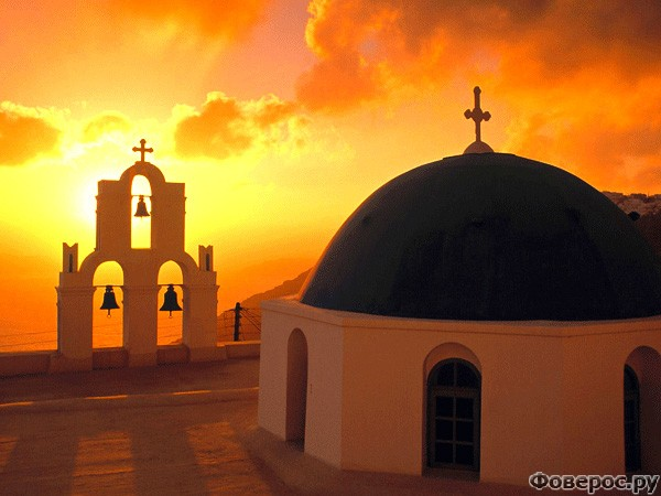 Санторини: Церковь Кимиса Теотокова