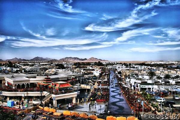 Шарм-эль-Шейх - Панорама города