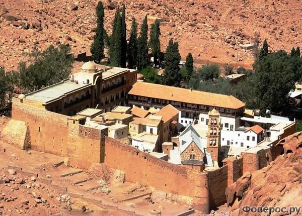 Шарм-эль-Шейх - Монастырь Св Екатерины
