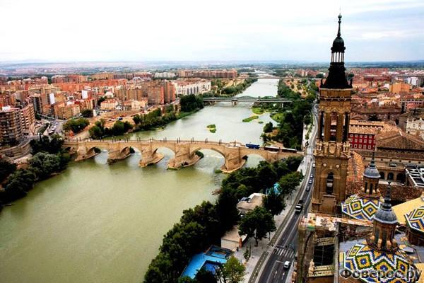 Сарагоса - Вид на город