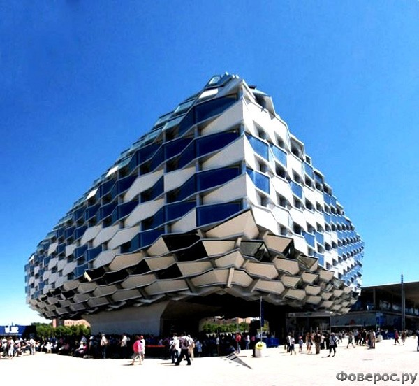 Сарагоса - Павильон правительства автономного сообщества Арагон
