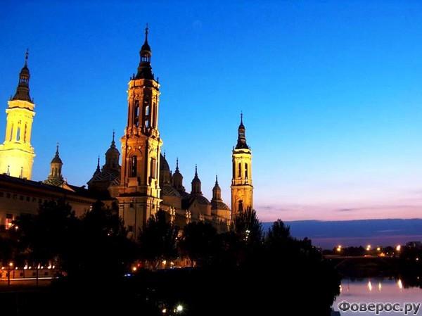 Сарагоса - Базилика Божьей Матери дель Пилар