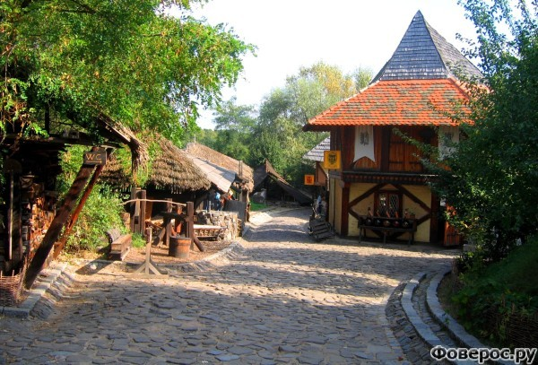 Остра - Чешская деревня