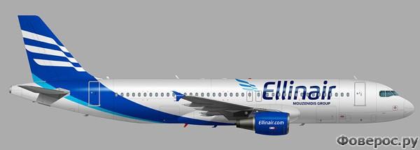Ellinair - Фирменный стиль новой авиакомпании
