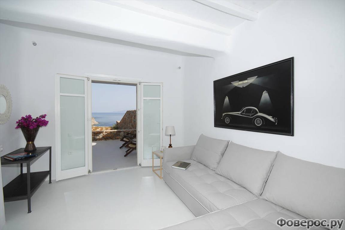 Изумительная вилла на острове Миконос