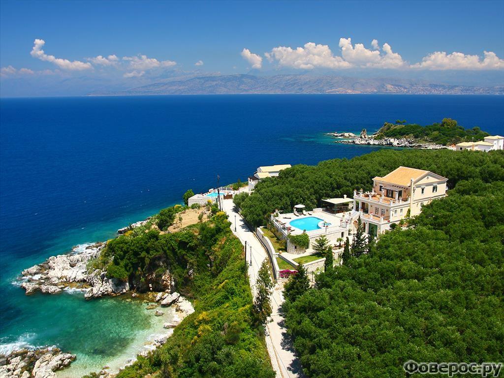 Вилла Камелия - жемчужина Ионического моря
