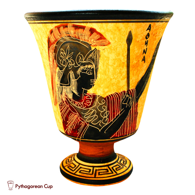 Афина - Чаша Пифагора