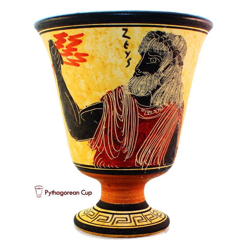 Зевс - Чаша Пифагора